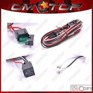 40-Amp-Off-Road-ATV-Jeep-LED-Light-Bar-Wiring-Harness-Relay-ON-OFF-Switch