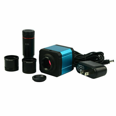 34mp Hdmi Microscope Electronic Digital Eyepiece Ccd Camera 0.5x Reduction Lens