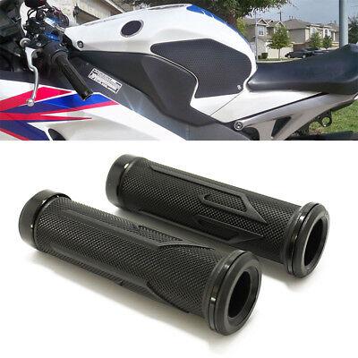 (2X BLACK MOTORCYCLE 7/8