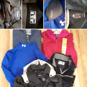 Women's Med/Sm lot of brand name activewear Under Armour