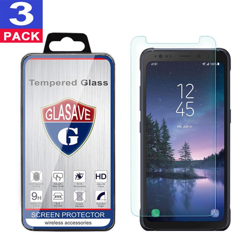 Samsung Galaxy S8 ACTIVE amFilm Premium Tempered Glass Scree