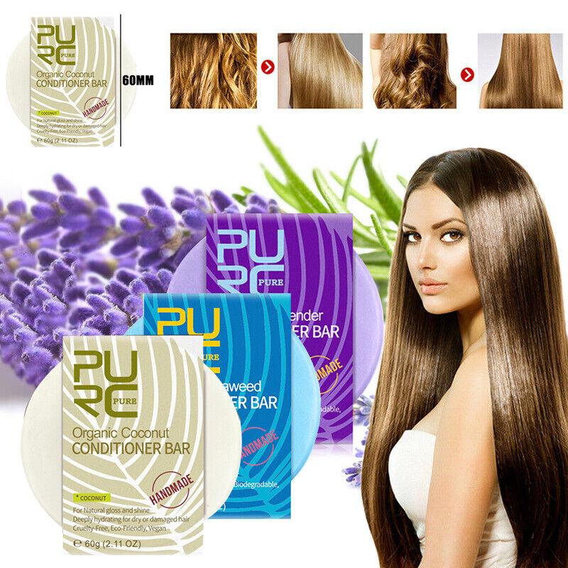 PURC Organic Shampoo Bar Soap Hair Growth Solid Conditioner