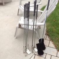 Ensemble de bâton de golf gaucher