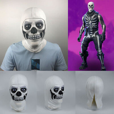 Halloween Mask For Skull Trooper Skin Adult Christmas Party Cosplay Full Mask US