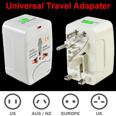 1pc Universal All In One Power Adapter Wall Charger Socket Travel Plug Converter