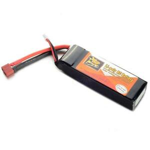 11.1V 2200mAh 3S 30C LiPo Battery Pack 3S1P For RC Helicopter Airplane