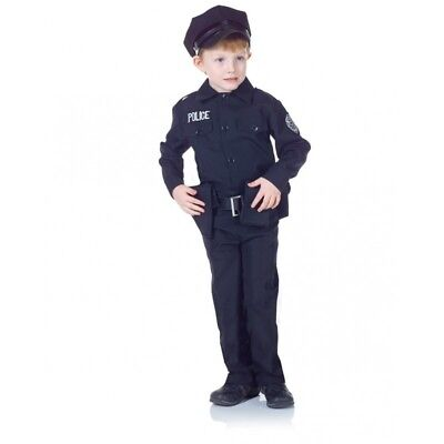 Underwraps Police Officer Set Cops Dress Up Child Boy Halloween Costume 25912