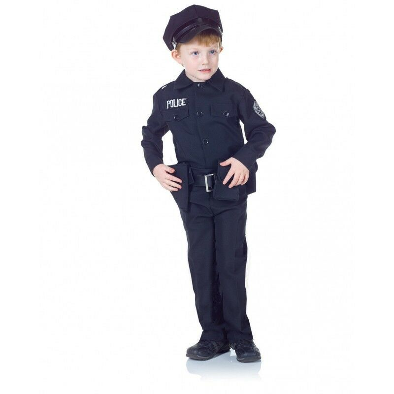 Underwraps Police Officer Set Cops Dress Up Child Boy Halloween Costume 25912