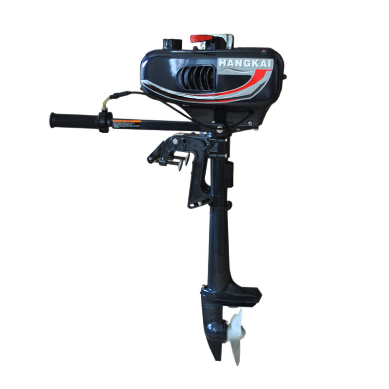 3 5hp 2 stroke outboard motor fishing boat sail boats for Fishing boat motor