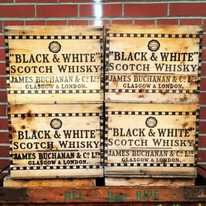 OLD ANTIQUE VINTAGE CRATES AND BOXES