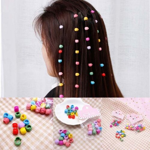100PCS Hair Claw Clips For Women Girls Cute Candy Hairpins Color Accessorie E0F5