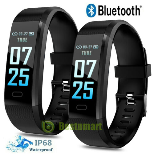Smart Watch Heart Rate Blood Pressure Fitbit Fitness Tracker