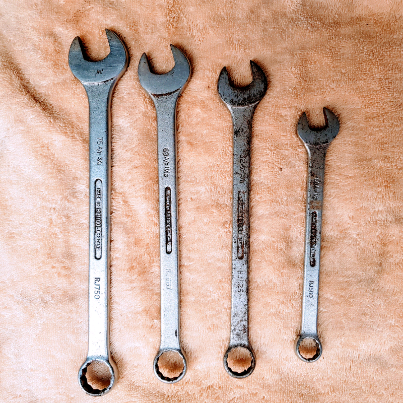 BRITOOL SET OF SPANNERS