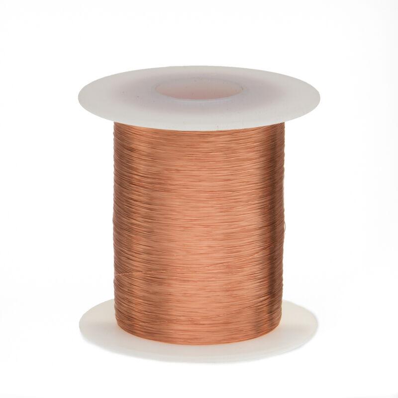 33 AWG Gauge Enameled Copper Magnet Wire 8 oz 3176