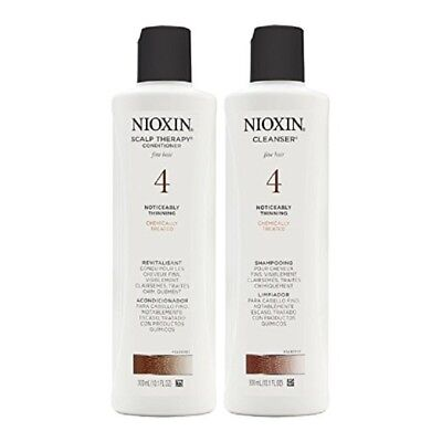 Nioxin System 4 Cleanser and Scalp Therapy Duo Set 10.1 oz ()
