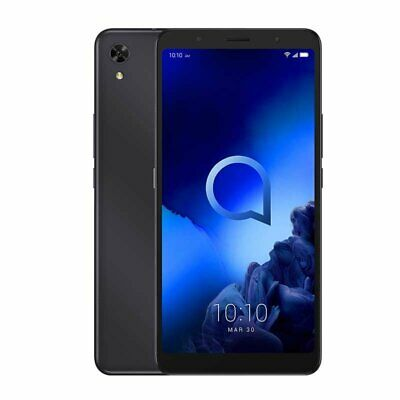 Alcatel 3C 5006D Smartphone volcano black Android 6,7 Zoll HD+ 16 GB Handy