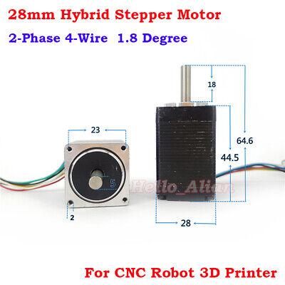 Nema 11 Precision 1.8deg Mini 28mm 2-phase 6-wire Hybrid Stepper Stepping Motor