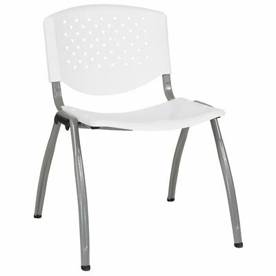 Flash Furniture Hercules Ergonomic Plastic Stacking Chair in
