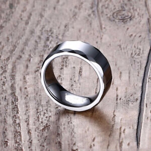 Men's Stainless Steel Wedding Band Size - 10 or 11