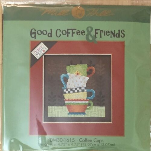 Mill Hill Buttons and Beads Cross Stitch Kit Good Coffee & F