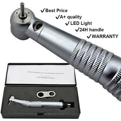 KAVO STYLE Dental Fiber Optic High Speed Handpiece LED E-generator Push 4 Holes ()