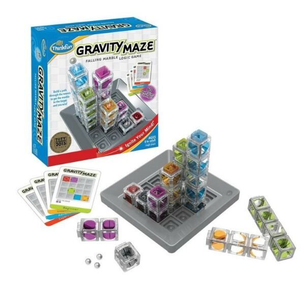 BNIB: ThinkFun Gravity Maze Marble Run Logic Game and STEM Award Winner