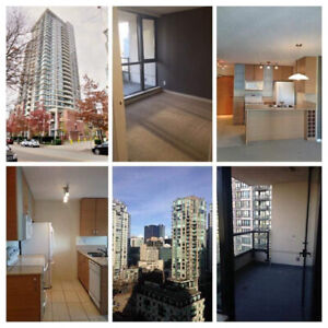 Yaletown 1-Bedroom + Den available for rent July 1