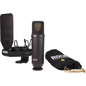 Rode NT1 Kit Cardioid Condenser Microphone with Kit