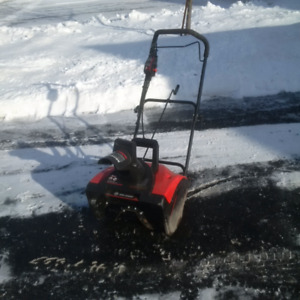 "King Canada 18"" Electric Snowblower"