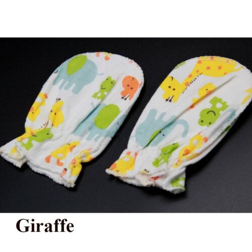 Baby Gloves 3 Pairs Infant Warm Mittens Windproof Infant Hand Wear Color Random