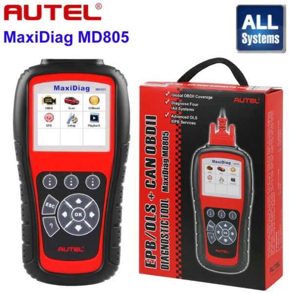 NEW 2018 AUTEL MD805 ALL SYSTEM Full System Diagnostic Tool Upgrade MD802 OLS/EPB, LOCAL STOCK R4999