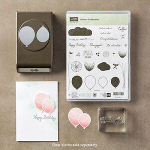 Stampin up Balloon Punch
