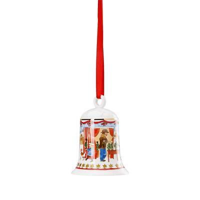 Porzellan Motiv Südpol HUTSCHENREUTHER Weihnachtsglocke 2017 Porzellan OVP