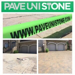 DRIVEWAY CLEANING - HIGH PRESSURE CLEANING - UNISTONE & CONCRETE West Island Greater Montréal image 1