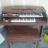 Yamaha Organ with Bench for Sale
