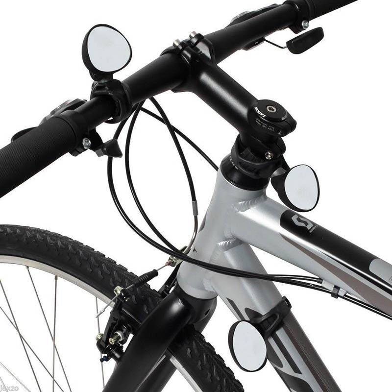 Adjustable 360 Degree Rotate Rear View Mirror Bicycle Road