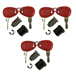 Givi Z228 Matching Replacement Lock Set & 6 Keys for Top Box and Panniers 3 Set