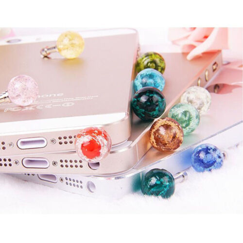 Phones 3.5mm Jack Universal Glow Headset Headphone Anti Dust Plug Cute GiftsJIJ