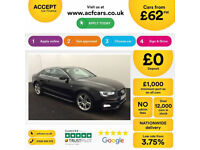 Audi A5 S Line FROM £62 PER WEEK!