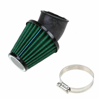 Green Motorcycle Quad Air Filter 48mm Intake Scooters Moped ATV for BMW Harley