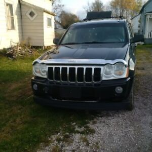for parts 2005 Jeep Grand Cherokee must be towed