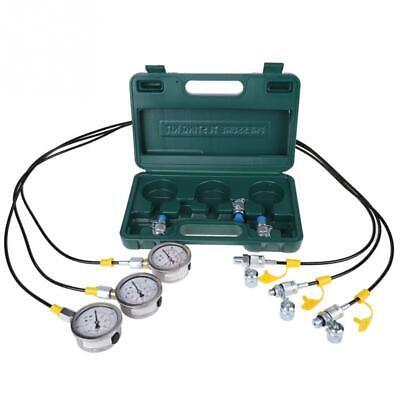 Hydraulic Pressure Gauge Diagnostic Full Test Tester Kit For Excavator Coupling