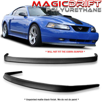 For 99-04 Mustang Mach 1 Chin Spoiler CBR Style Front Bumper Lip Kit GT SVT