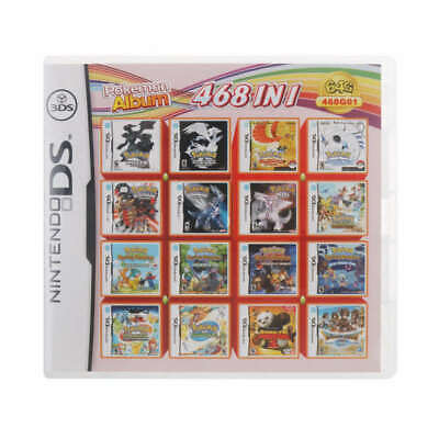468 in 1 NDS Game Card Pokemon Album Cartridge for Nintendo DS 2DS 3DS NDSL NDSI