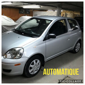 2005 TOYOTA ECHO AUTOMATIQUE 120,000 KM