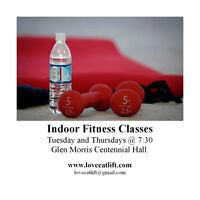 Fitness Classes in the Glen(Woman only)