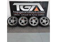 "19"" Original Genuine Mercedes E-Class Alloy Wheels & Tyres A2134012000 /2100"