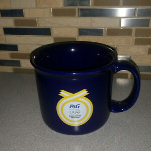 Coffee / Tea Mug / Cobalt Blue/ Large Sized/  P&G Collectible: