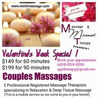 Couples Massage / Valentine's Day Special
