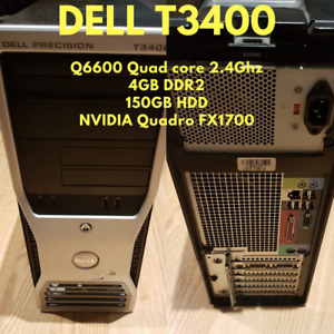 Dell T3400 QUAD CORE 4GB RAM